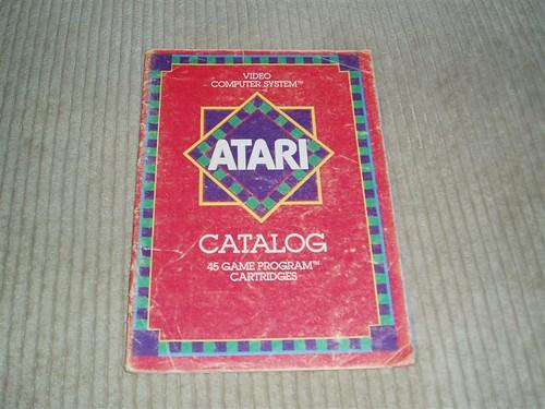 Atari Catalog of Games