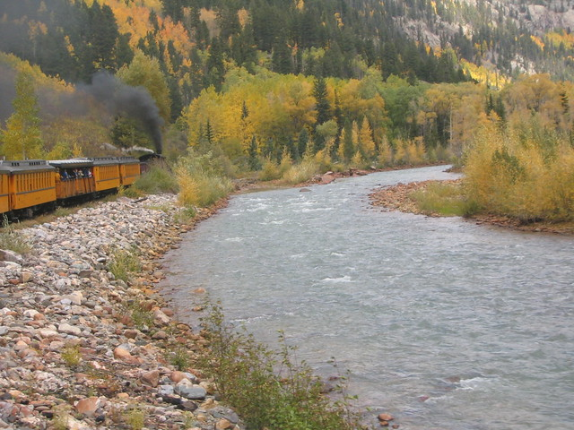 Day 4 Durango Silverton Scenic Train Ride 112
