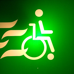 Roll, Handicapped Person, Roll!