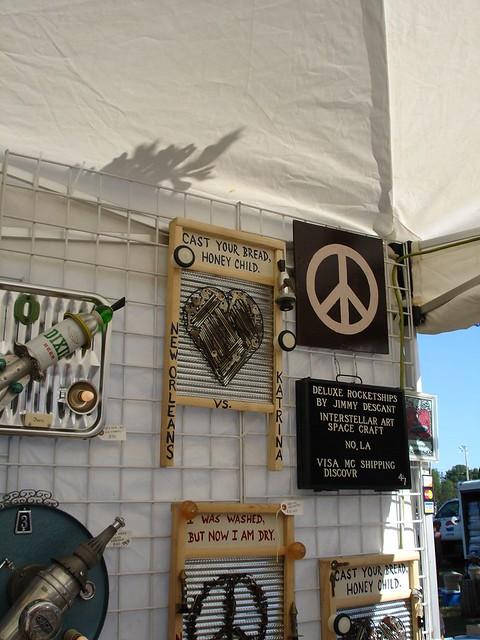 Jimmy Descant's Art, Kentuck Festival of the Arts, Northport AL