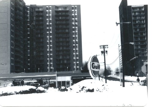 Highland House West. Blizzard of 1983