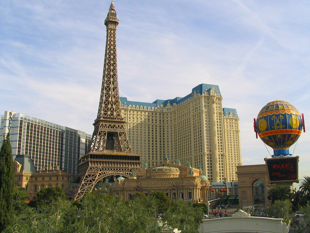 Paris Hotel & Casino. Las Vegas, Nevada