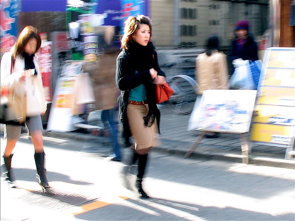 Blurred Shimokita Girl
