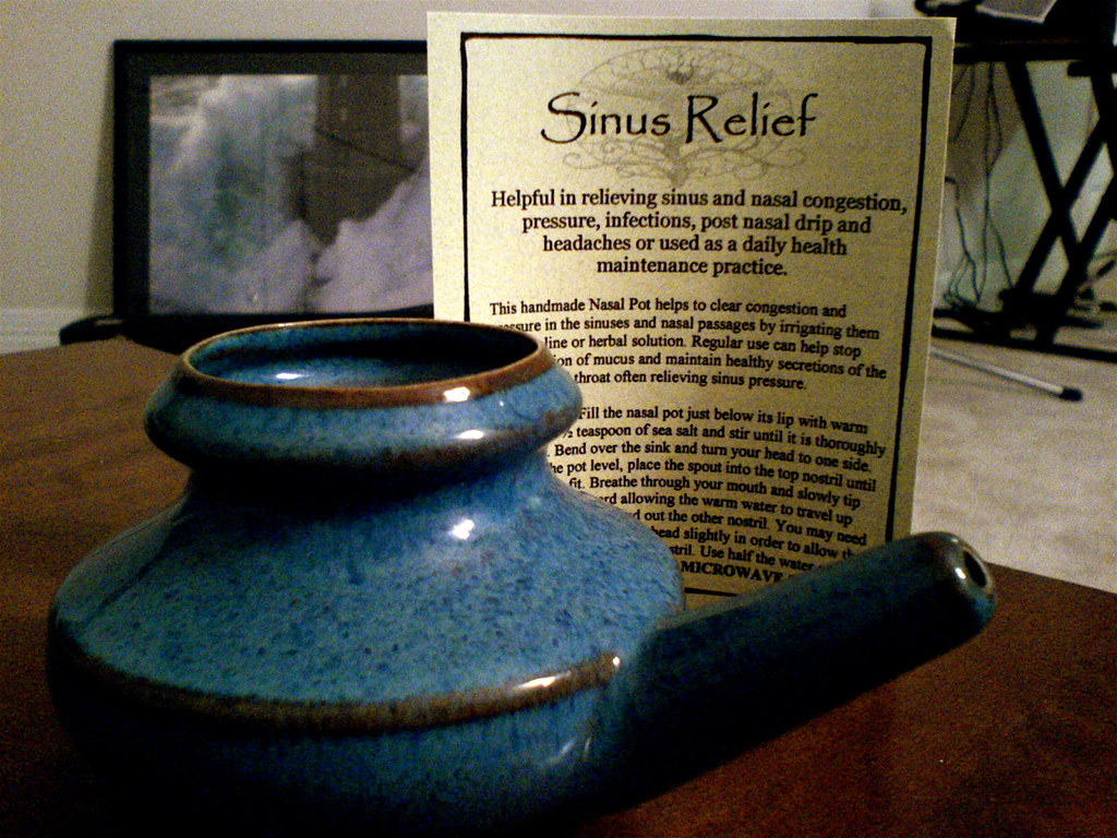 neti pot relief
