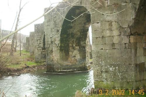 puente viejo de Boñar, izq
