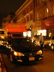 Chinatown traffic jam