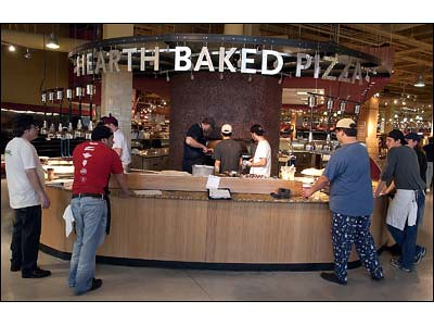 Whole Foods Austin, Pizza Station