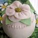 magnolia pincushion by Bella Dia