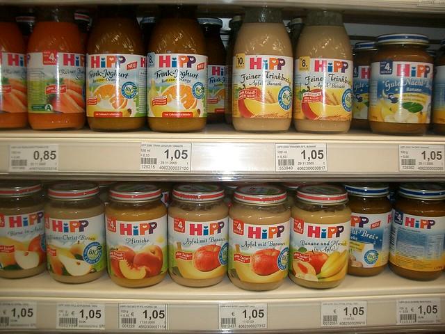 Hipp Baby Food  Months