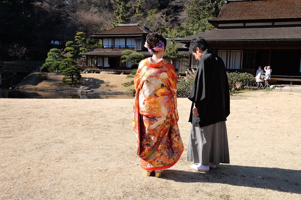 Japanese Wedding Couple