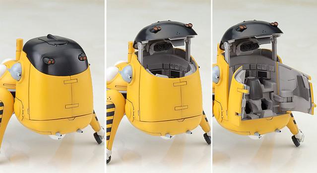 《攻殻機動隊》 STAND ALONE COMPLEX 思考戰車「タチイエロー」 1/35比例 組裝模型