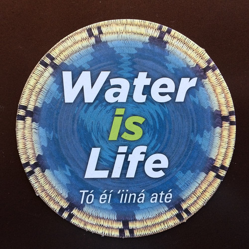 Water is Life = Tó éí ííńá át'é @TwinArrowsAZ @NativeInnovate @nihizaad