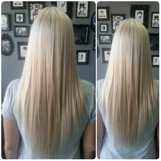 Weave N Slice Platinum Blonde Highlights Weave N Slice Platinum