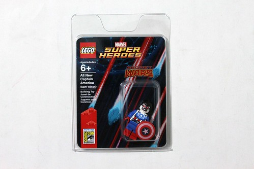 LEGO Marvel Super Heroes SDCC 2015 All New Captain America (Sam Wilson)