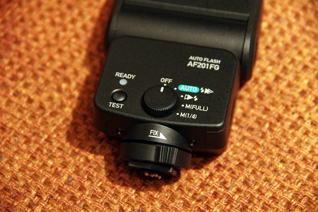 PENTAX オートストロボ AF201FG _8