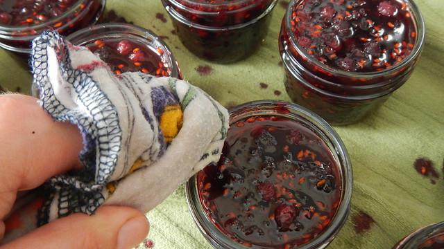 Saskatoon Berry Jam 22