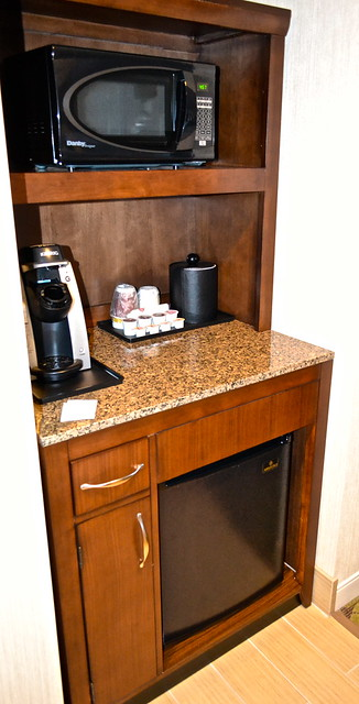 fridge and microwave - Hilton Garden Inn Burlington, Vermont