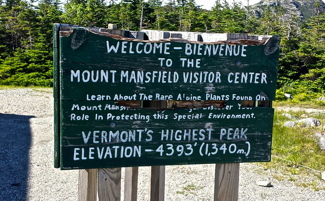 Mount Mansfield - green mountains vermont