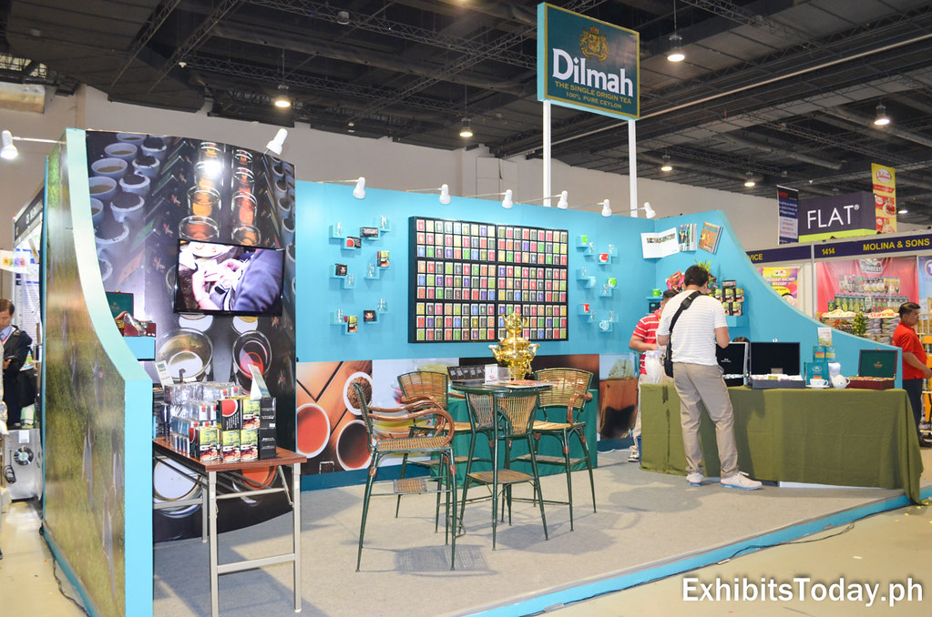 Dilmah Origin Tea Exhibit Booth