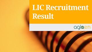 LIC ADO Result 2015