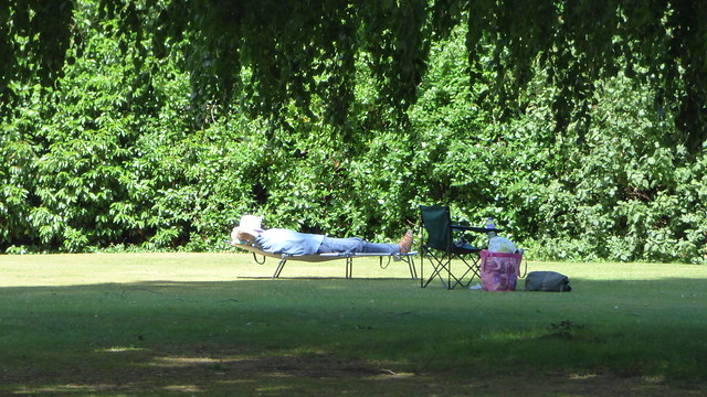 Take a nap! At Cookham by the Thames