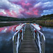 Fire on the lake by www.remi-ferreira.fr