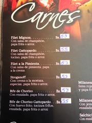 Our favourite steak in South America.  Gattopardo Taberna, Tarija, Bolivia.