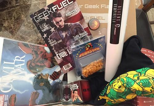 GeekFuel July 2015