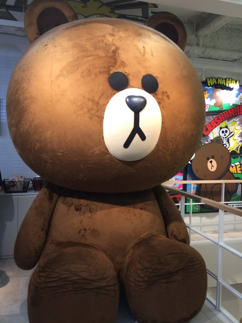 LINE FRIENDS STORE HARAJUKU