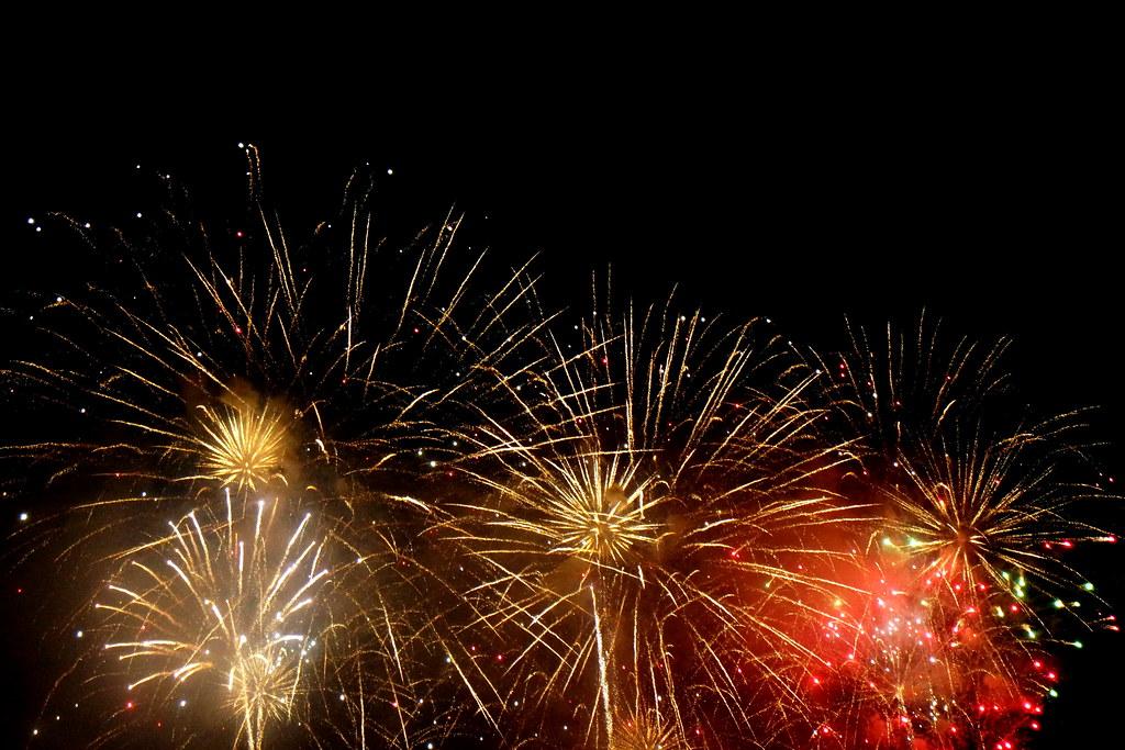 NDP 2015, SG50, fireworks