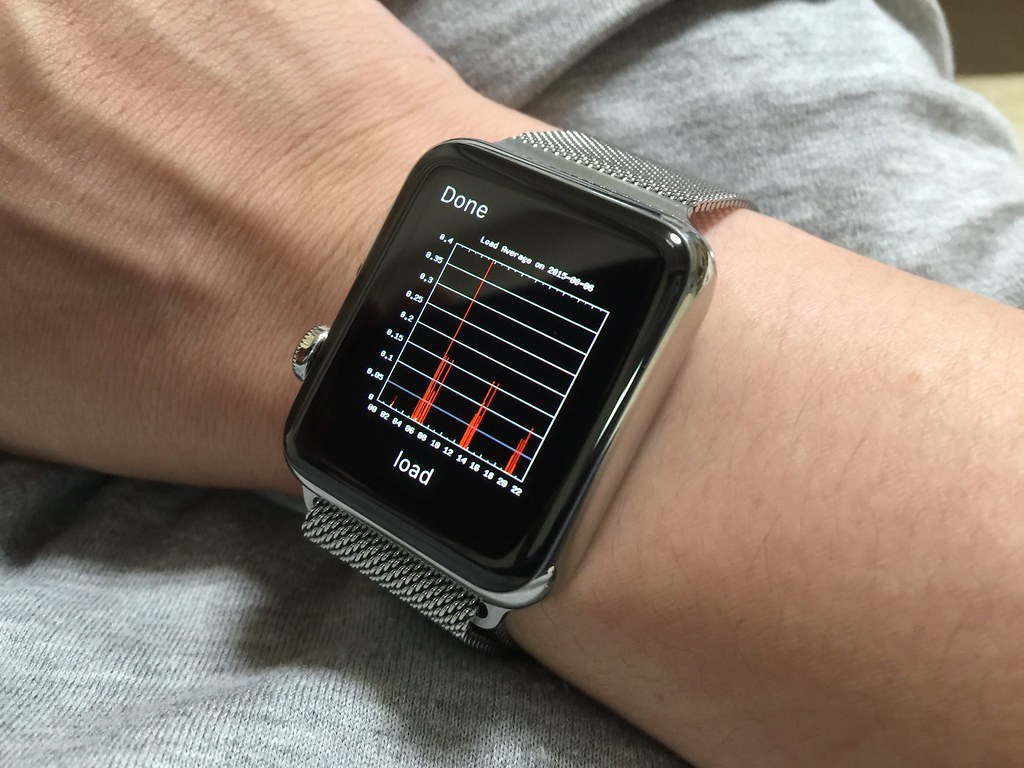 Loadaverage on Apple Watch