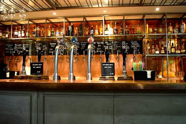 Vintage Bar at Drygate Brewery, Glasgow