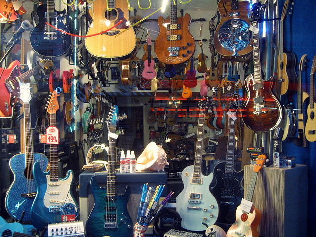 guitars, Basel