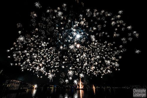 Grand Feu d'Artifice @ Fêtes de Genève 2015