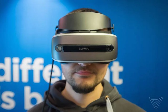 Lenovo va vendre un casque VR Windows Holographics à 300$