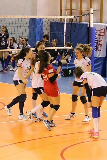 Campionato Fipav U16 Bianca 28 Gennaio 2017 Rondò Muggiò Pro Patria 0 - 3