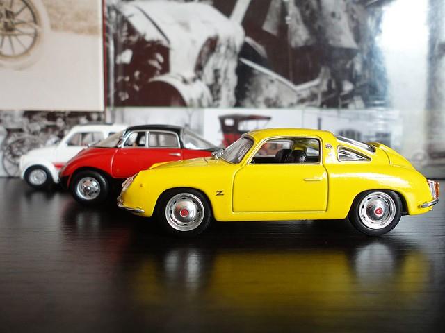 Fiat Abarth 750 Record Monza (1958) 1/43 (Metro - Leo Models)