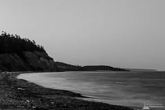 Darkness Along the Shoreline, Whidbey Island, washington, 2016