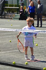 Everett At The Net