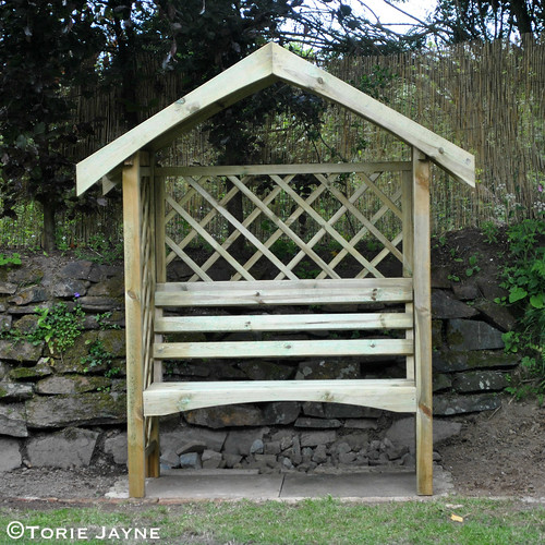 Arbour bench