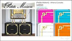 {Petite Maison} Athena Console
