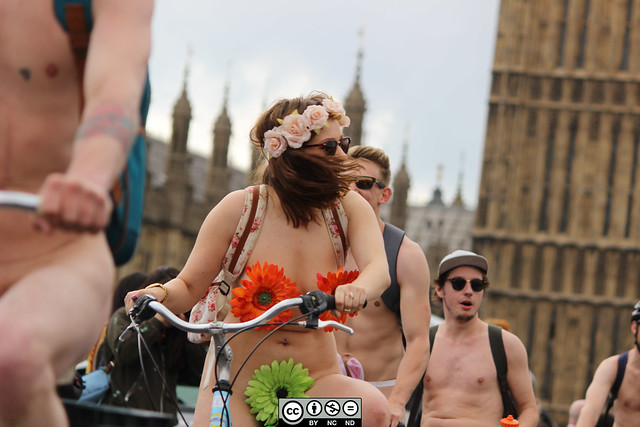London-Naked Bike Ride