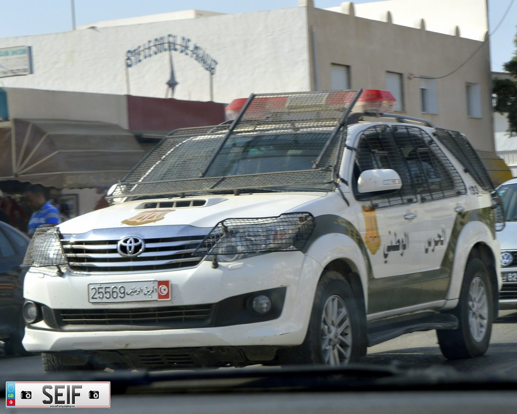 Toyota FORTUNER Tunisia 2015
