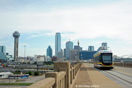 DALLAS--302 on Trinity River Bridge IB