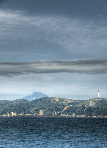 View of Wakkanai side from 'EINS SOYA' on JUL 21, 2015 (10)