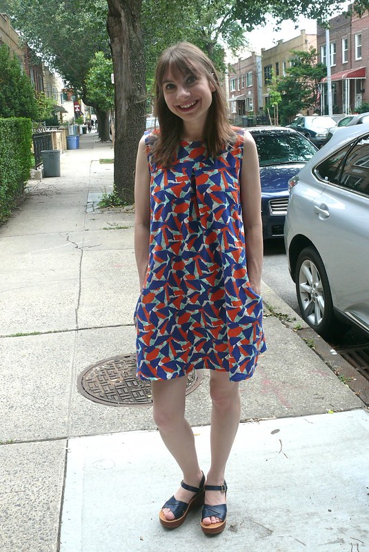 Pauline Alice Xerea dress | Ginger Makes