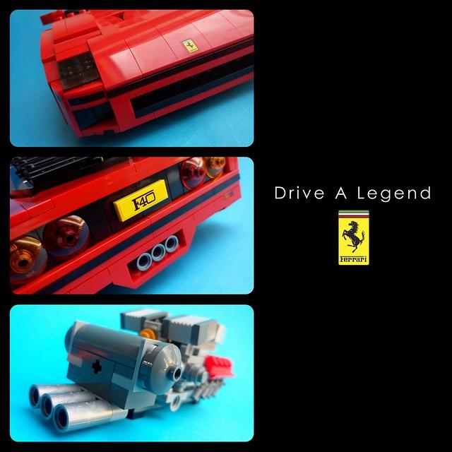 Ferrari F40 - Advertisement 2