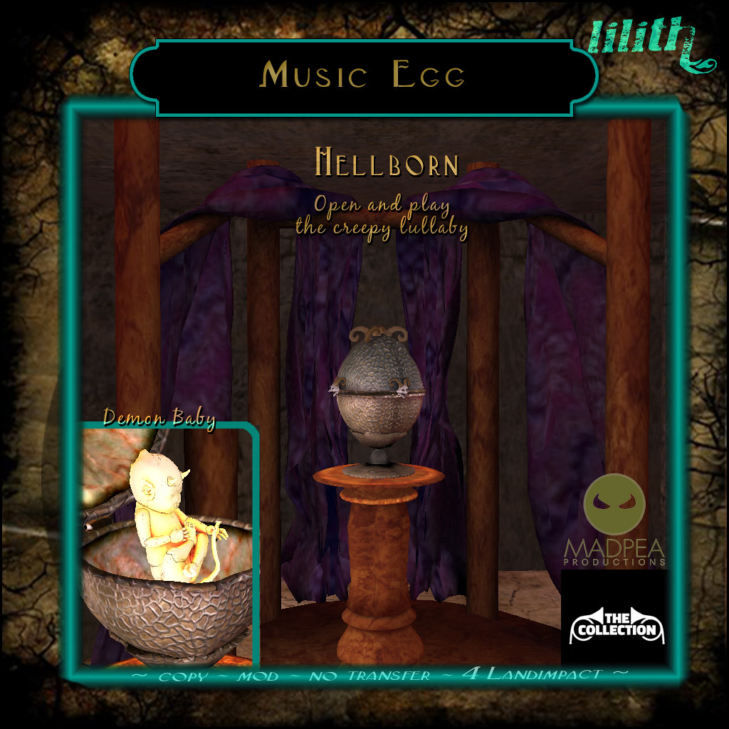 LD Music Egg Hellborn - MadPea The Collection Gold Prize