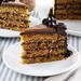 Graham Coconut Caramel Cake
