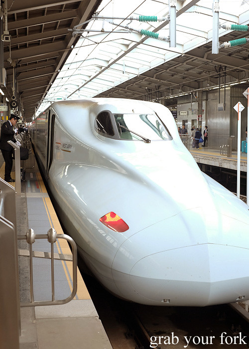 Sakura 555 N700 series JR Kyushu shinkansen bullet train